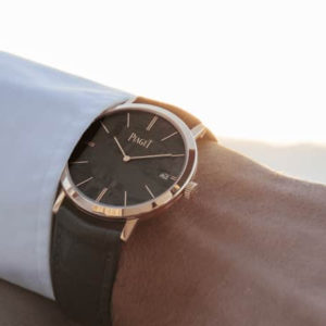 Piaget Altiplano with Meteorite Dial Touch