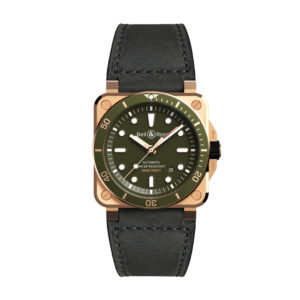 BR 03-92 DIVER GREEN BRONZE