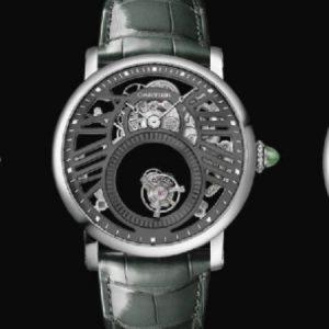"Cartier Presents Three ""Fine Watchmaking"" Watches"