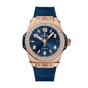 BIG BANG ONE CLICK KING GOLD BLUE DIAMONDS