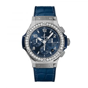 BIG BANG STEEL BLUE DIAMONDS